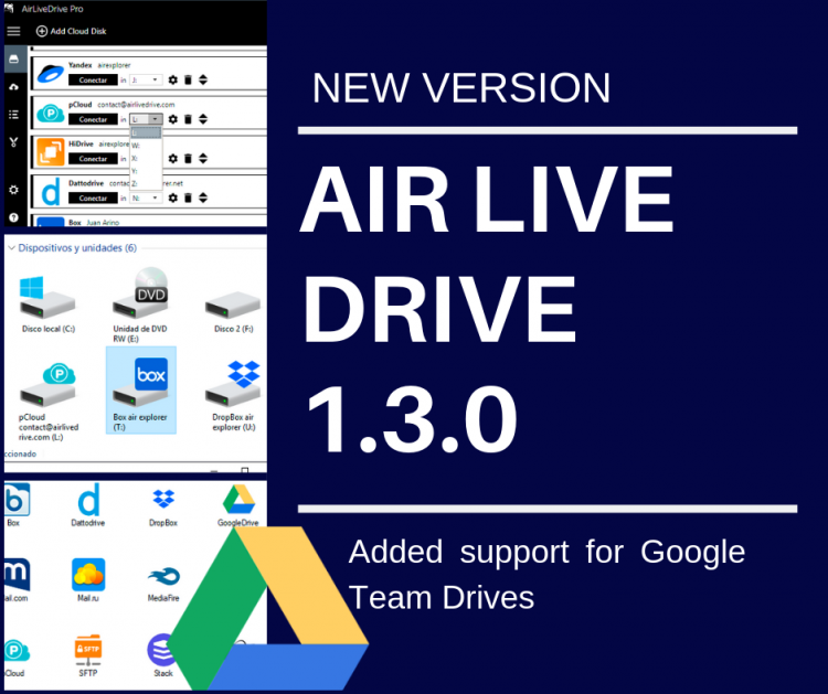 Air Live Drive - blog about news, versions, faq and tricks